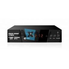 Комбиниран HD кабелен и ефирен DVB-C, DVB-T/T2 приемник с iptv CT9012