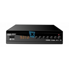 Комбиниран HD кабелен и ефирен DVB-C, DVB-T/T2 приемник с iptv CT9212